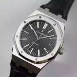 Noob Factory Replica Audemars Piguet Royal Oak 41mm Black Dial 15400,1:1 Replica Best Edition