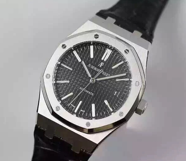 Noob Factory Replica Audemars Piguet Royal Oak 41mm Black Dial 15400