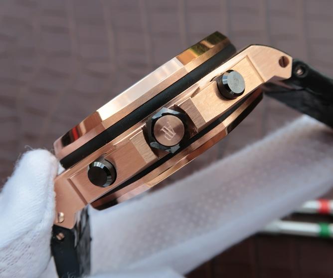Noob Factory Replica Audemars Piguet Royal Oak Offshore Rose Gold
