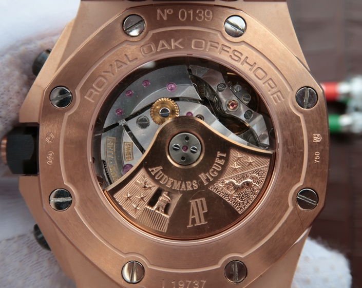 Noob Factory Replica Audemars Piguet Royal Oak Offshore Rose Gold