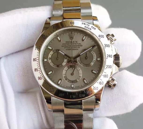 Noob Factory Replica Rolex Cosmograph Daytona v6s Stainless Steel Watch