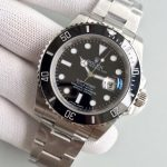 Noob Factory Replica Rolex V7 116610LN Submariner Black Watch