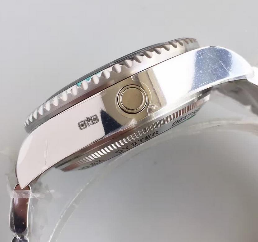 Noob Factory Replica Rolex V7 116660 Rolex Deepsea D-Blue Stainless Steel Mens Watch