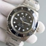 Noob Factory Replica Rolex V7 116660 Deepsea Black Watch,Best 1:1 Replica Editon