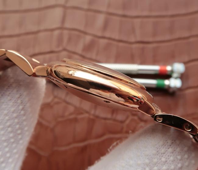 Noob Factory Replica Cartier Ballon Bleu 33mm Rose Gold Ladies Watch