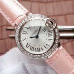Noob Factory Replica Cartier Ballon Bleu Diamonds Ladies Watch Review