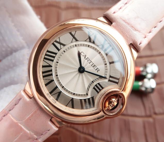 Noob Factory Replica Cartier Ballon Bleu Ladies Rose Gold Watch W6920084