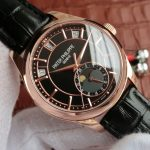 Noob Factory Replica Patek Philippe Annual Calendar Chronograph 5205R-010 Watch