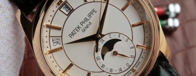 Noob Factory Replica Patek Philippe Complications Chronograph 5205R-001 Watch