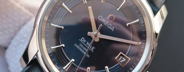 Noob Factory Replica Omega De Ville Hour Vision Blue V7 Edition Watch Review