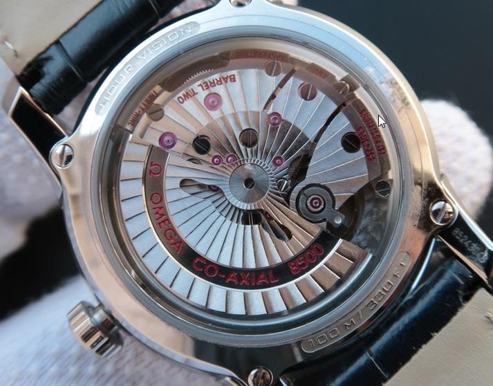 Noob Factory Replica Omega De Ville Hour Vision Blue V7 Edition Watch Review