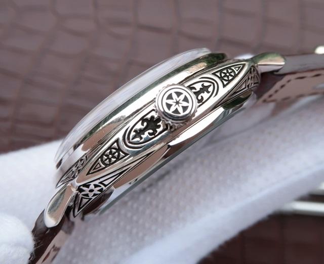 Noob Factory Replica Panerai Crow Heart Pure Silver Watch