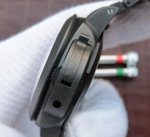 Noob Factory Replica Panerai Luminor 1950 Tuttonero Black Ceramic PAM438 Watch