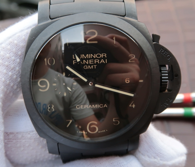 Noob Factory Replica Panerai Luminor 1950 Tuttonero Black Ceramic PAM438 Watch