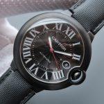 Noob Factory Replica Ballon Bleu de Cartier Carbon Watch WSBB0015