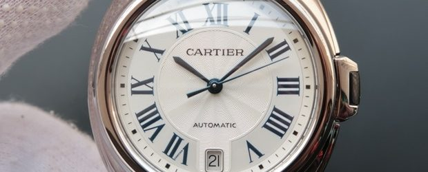 Noob Factory Replica Cartier Cle de Cartier 40mm White Gold Men's Watch WGCL0005
