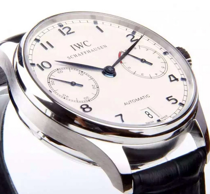 Noob Factory Replica IWC Portuguese 7 Day Power Reserve IW500107 1: 1 Original Review