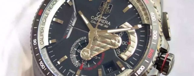 Noob Factory Replica Tag Heuer Grand Carrera Chronograph Calibre 36 RS Review