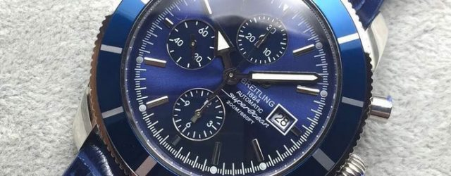 Noob Factory Replica Breitling Superocean Heritage 46 Blue Chronograph Review