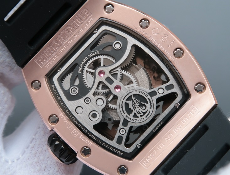 Noob Factory Replica Richard Mille RM 57-01 Jackie Chan Tourbillon Phoenix and Dragon Review