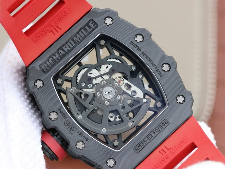 Noob Factory Replica Richard Mille Rafael Nadal Black NTPT Carbon RM35-02 Review