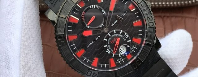 Noob Factory Replica Ulysse Nardin Maxi Marine Diver Black Sea 263-92 Review