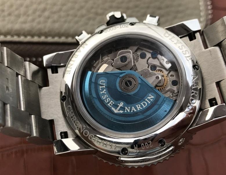 Noob Factory Replica Ulysse Nardin Maxi Marine Diver Chronograph 8003 Review