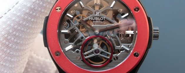 Noob Factory Replica Hublot Classic Fusion Tourbillon Red Bezel Watch Review