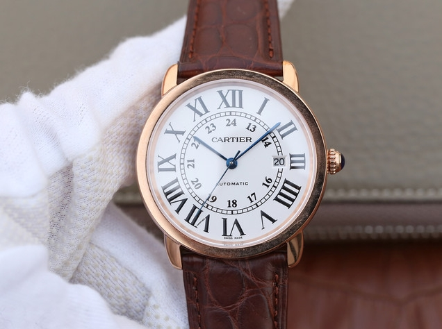 Noob Factory Replica Cartier Ronde Solo Automatic Watch Review
