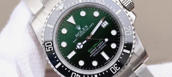 Noob Factory Replica Rolex Sea-Dweller 50th Anniversary Gradient Green
