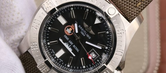Noob Factory Replica Breitling Avenger Seawolf HMS Ark Royal Review