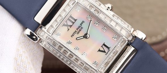 Noob Factory Replica Patek Philippe Twenty~4 Diamonds Watch