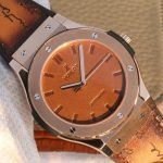 Noob Factory Replica Hublot Classic Fusion Berluti Scritto King Gold Review