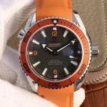 Noob Factory Replica Omega Seamaster Planet Ocean Orange Watch Review