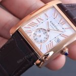 Noob Factory Replica Cartier Tank MC Rose Gold Review