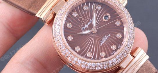 Noob Factory Replica Omega De Ville Ladymatic Diamond Women's Watch Review