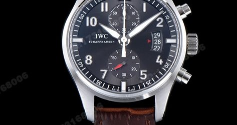 Noob Factory Replica IWC Pilot's Watch Spitfire Chronograph IW387802 Review