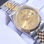 Noob Factory Replica Rolex Datejust Diamond Automatic Watch 116233G Review