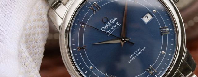 Noob Factory Replica Omega De Ville Prestige Co-Axial Blue Dial Review