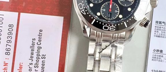 Noob Factory Replica Omega Seamaster Diver 300M Review