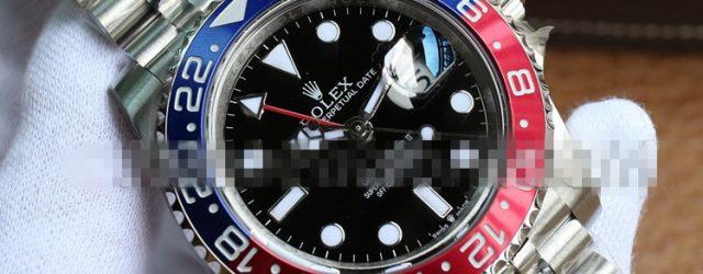 Noob Factory Replica Rolex GMT-Master II Pepsi Bezel 126710 BLRO