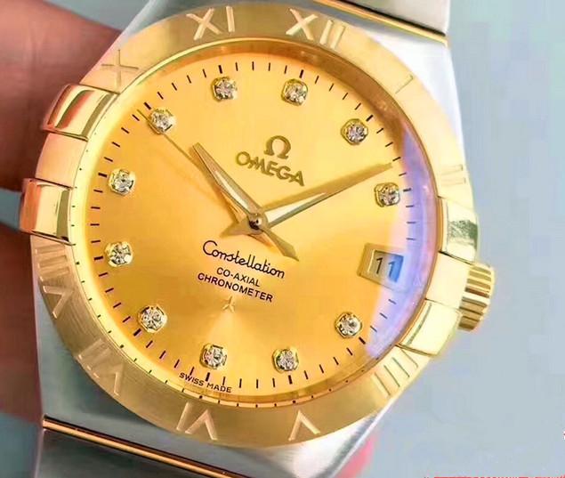 Noob Factory Replica Omega Constellation Chronometer Diamonds Review