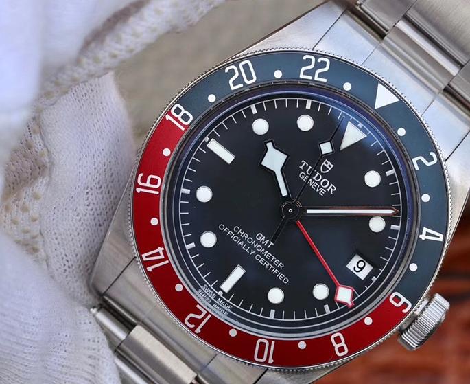 Noob Factory Replica Tudor Black Bay GMT Red Blue Pepsi Review