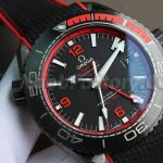 Noob Factory Replica Omega Seamaster Planet Ocean GMT Deep Black 215.92.46.22.01.003 Review