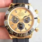 Noob Factory Replica Rolex Cosmograph Daytona Yellow 116518LN Watch Review