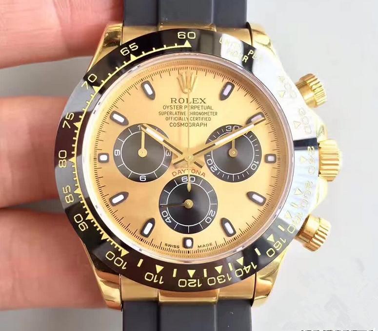 Noob Factory Replica Rolex Cosmograph Daytona Yellow 116518LN Watch Review