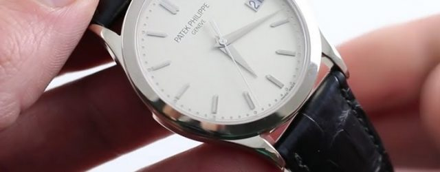 Noob Factory Replica Patek Philippe Calatrava 5296G-010 Review