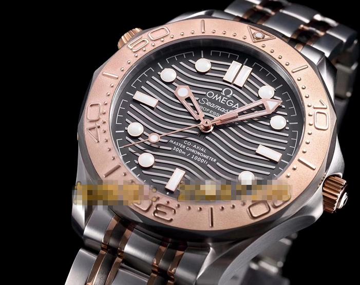 Noob Factory Replica Omega Seamaster 300m Titanium & Tantalum Limited Watch