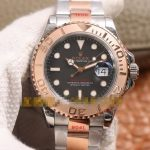 Noob Factory Replica Rolex Yacht Master 40 Everose Gold 126621 Review