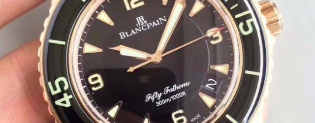 Noob Factory Replica Blancpain Fifty Fathoms 5015-3630-52 Watch Review